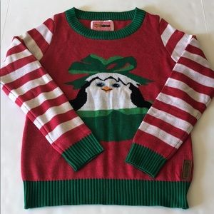 Tipsy Elves Penguin 🐧Christmas Sweater